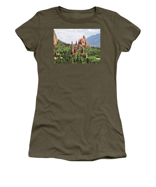 The Garden Of The Gods Women's T-Shirt (Athletic Fit)