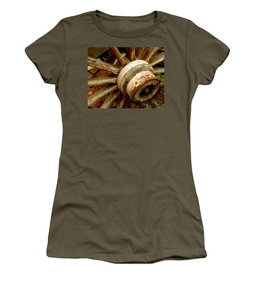 The Hub Women's T-Shirt (Athletic Fit)