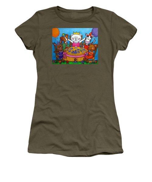 The Little Tea Party Women's T-Shirt