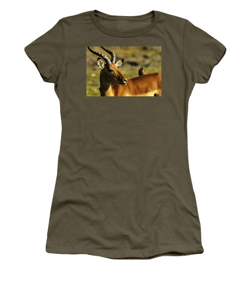 The Look Women's T-Shirt (Athletic Fit)