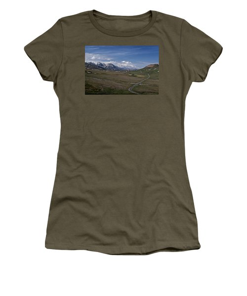 The Road To The Great One Women's T-Shirt (Junior Cut) by Wes and Dotty Weber