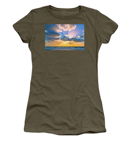 The Sea In The Sunset Women's T-Shirt