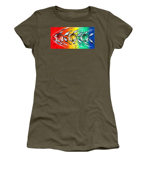 Three In A Row ... Three Women's T-Shirt