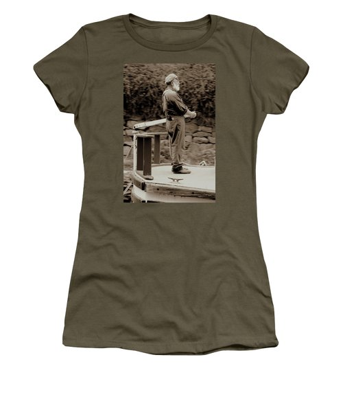 Women's T-Shirt (Junior Cut) featuring the photograph Timeless Serenity by Suzanne Stout