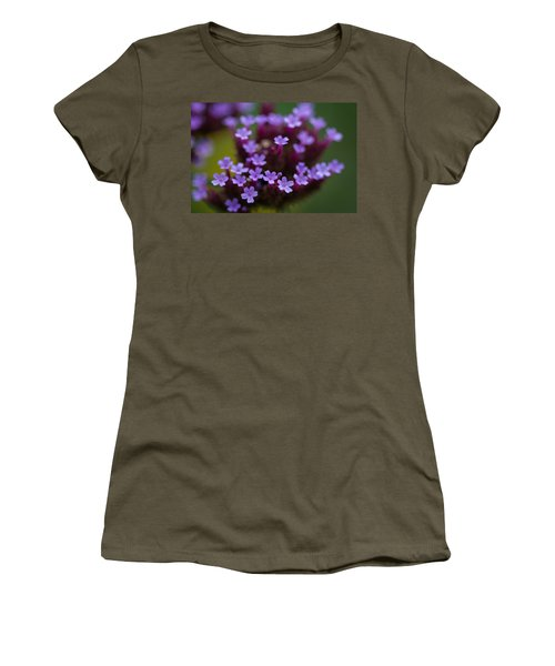 tiny blossoms II Women's T-Shirt (Junior Cut) by Andreas Levi