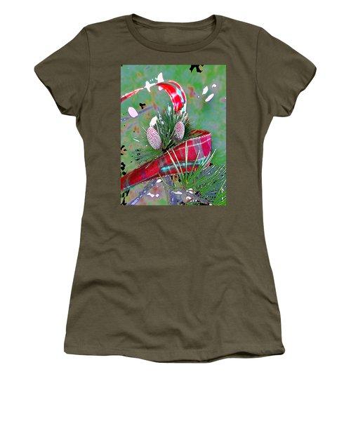 Tis The Season Women's T-Shirt (Junior Cut) by Anne Mott