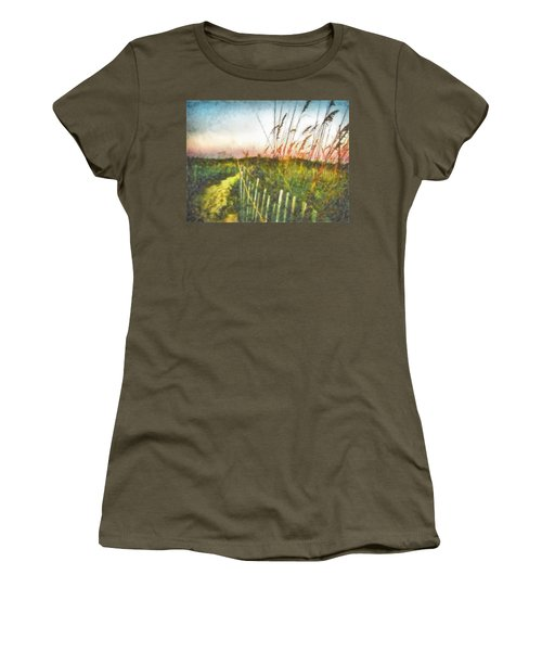 To The Sea Women's T-Shirt (Junior Cut) by Lynne Jenkins