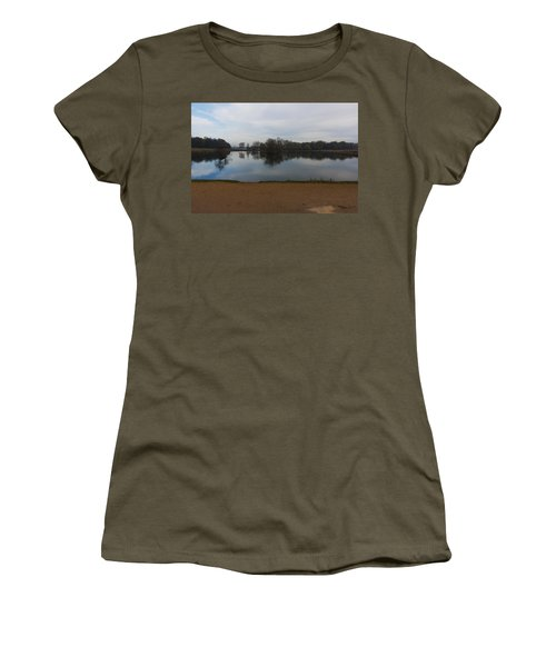 Women's T-Shirt (Junior Cut) featuring the photograph Tranquil by Maj Seda