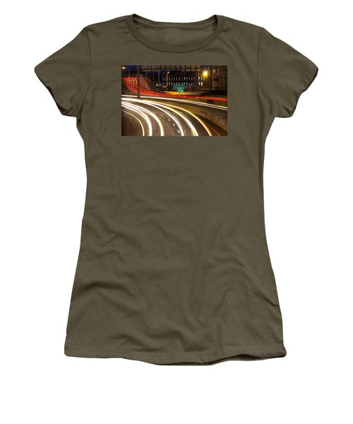Traveling In Time Women's T-Shirt (Athletic Fit)