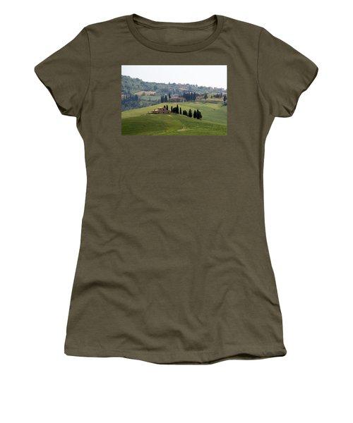 Tuscany Women's T-Shirt (Junior Cut) by Carla Parris