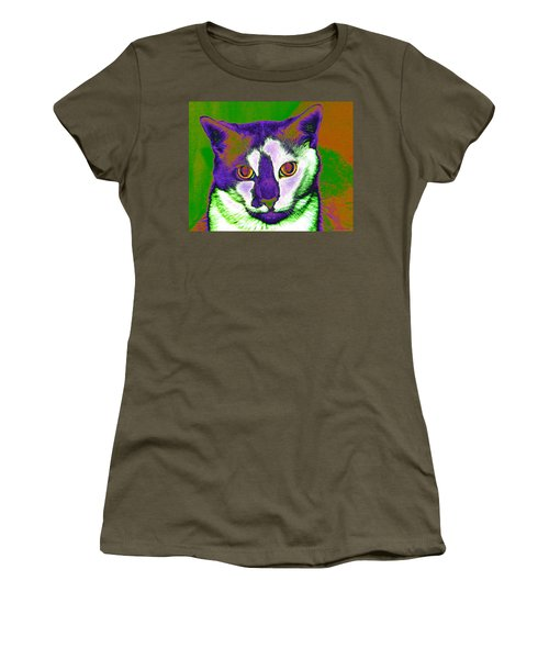 Van Gogh Ghosty Women's T-Shirt (Athletic Fit)