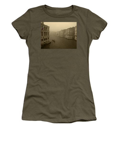 Women's T-Shirt (Junior Cut) featuring the photograph Venice by David Gleeson