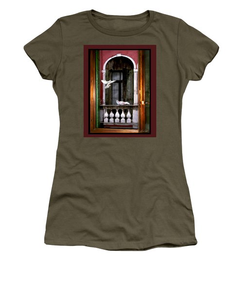 Venice Window Women's T-Shirt (Athletic Fit)