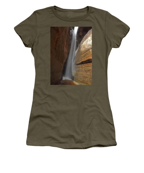 Water Canyon Women's T-Shirt (Athletic Fit)
