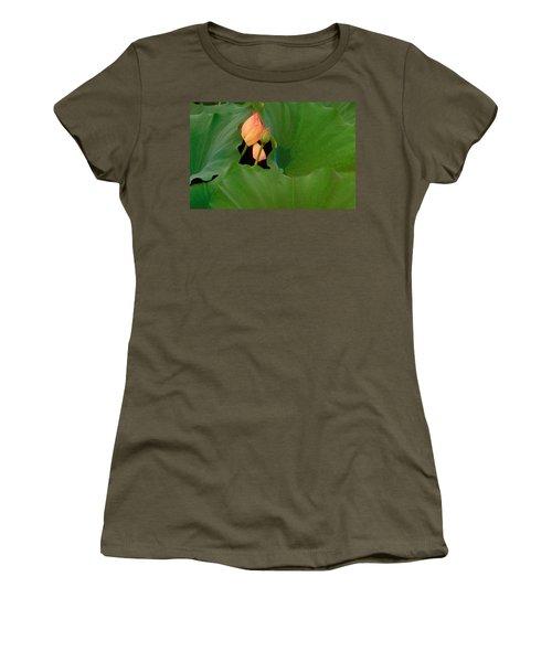 Water Lily Women's T-Shirt (Junior Cut) by Mark Greenberg