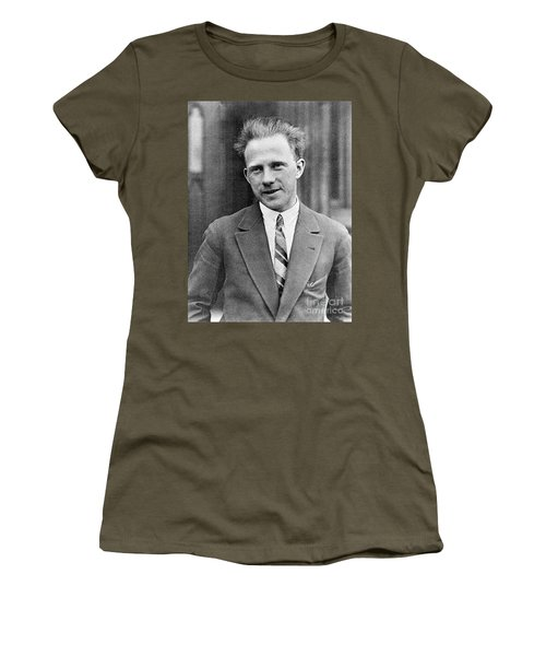 Werner Heisenberg, German Theoretical Women's T-Shirt