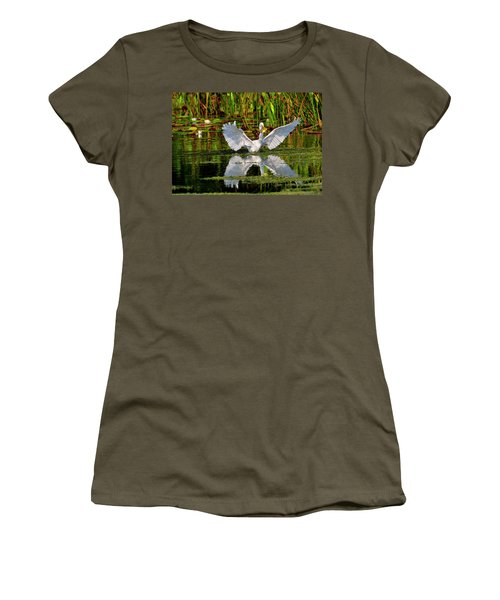 Wetlands Women's T-Shirt (Athletic Fit)