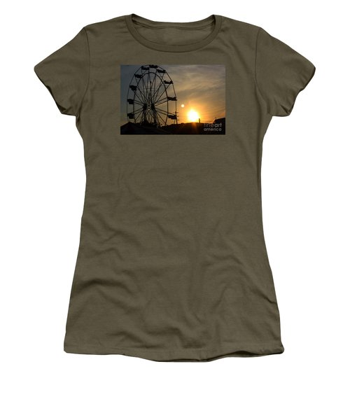 Women's T-Shirt (Junior Cut) featuring the photograph Where Has Summer Gone by Tony Cooper