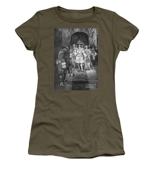 William Penn And Charles II Women's T-Shirt