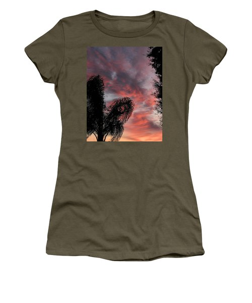 Windswept Clouds Women's T-Shirt
