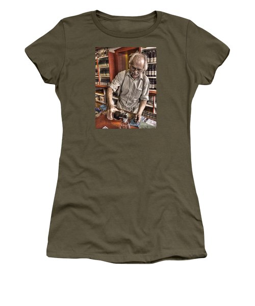 Women's T-Shirt (Junior Cut) featuring the photograph Wine I Know Was Made To Drink by William Fields