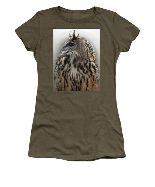 Wise Forest Owl Alicante Region Spain Women's T-Shirt