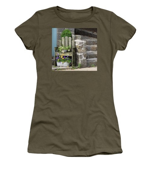 Wood And Granite Women's T-Shirt (Athletic Fit)