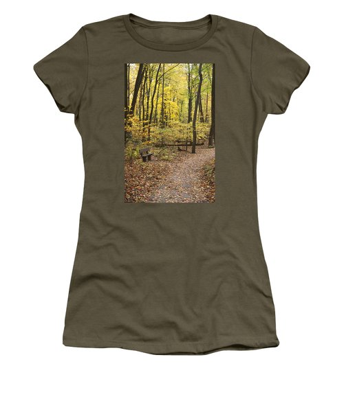 Woodland Respite Women's T-Shirt (Athletic Fit)