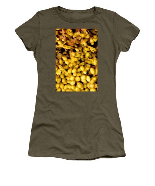 Yellow Kelp Pods Women's T-Shirt