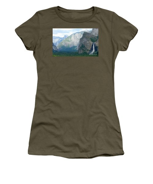 Yosemite Bridalveil Fall Women's T-Shirt