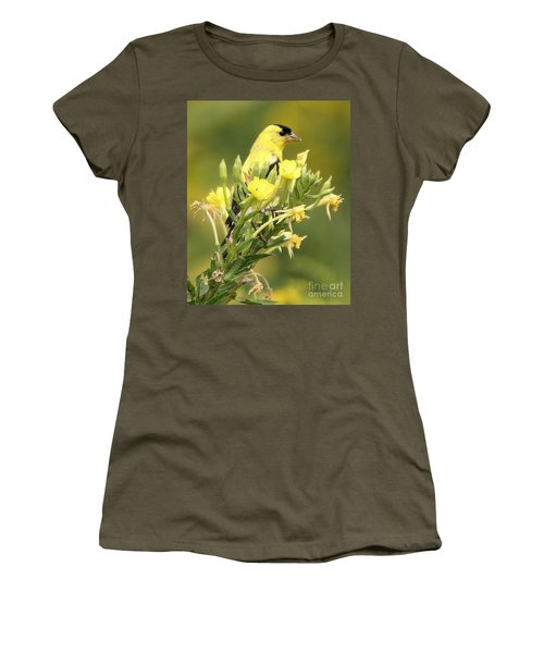 Goldfinch Women's T-Shirt (Athletic Fit)
