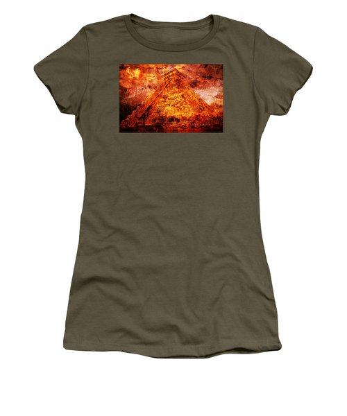 C H I C H E N  .  I T Z A .  Pyramid Women's T-Shirt (Athletic Fit)