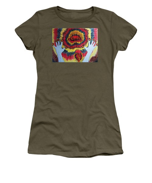 Splitting Women's T-Shirt