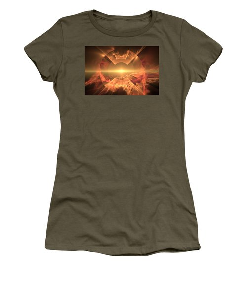Supernova  Women's T-Shirt (Athletic Fit)