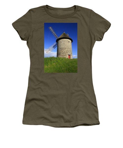 The Old Mill Women's T-Shirt (Junior Cut) by Martina Fagan