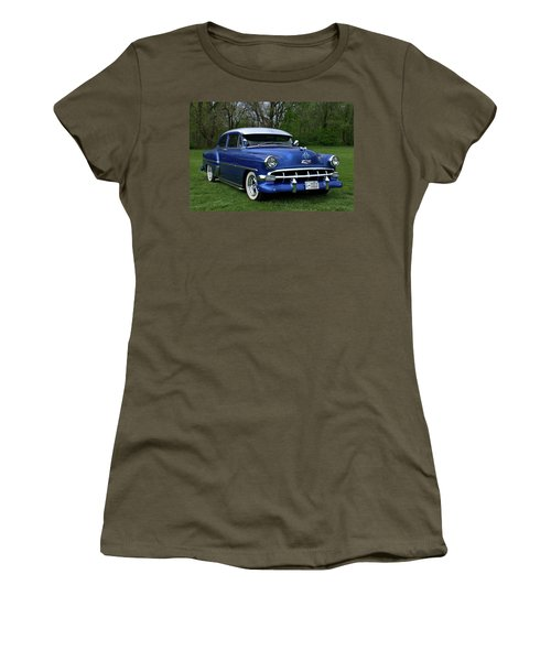 1954 Chevrolet Street Rod Women's T-Shirt (Junior Cut) by Tim McCullough