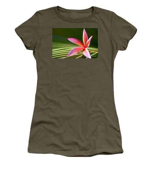 Women's T-Shirt featuring the photograph A Pure World by Sharon Mau