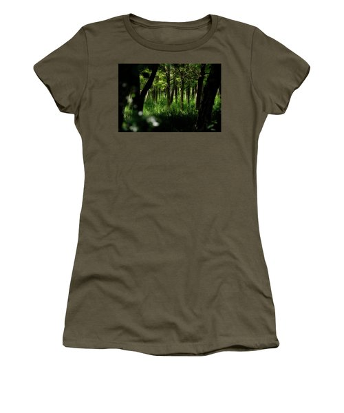 A Walk In The Woods Women's T-Shirt