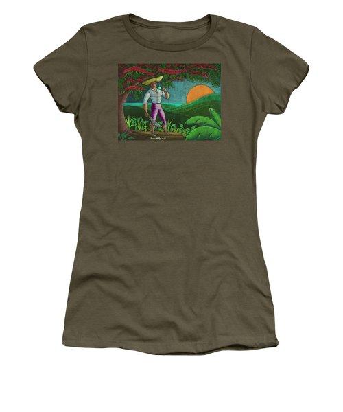 Amanecer En Borinquen Women's T-Shirt (Athletic Fit)