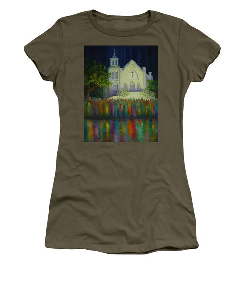 Amazing Grace Women's T-Shirt (Junior Cut) by Dorothy Allston Rogers