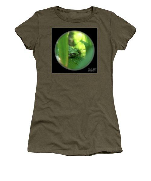 Ambiguous Women's T-Shirt (Junior Cut) by Sue Stefanowicz