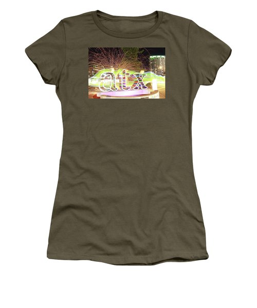 atx Women's T-Shirt (Junior Cut) by Andrew Nourse