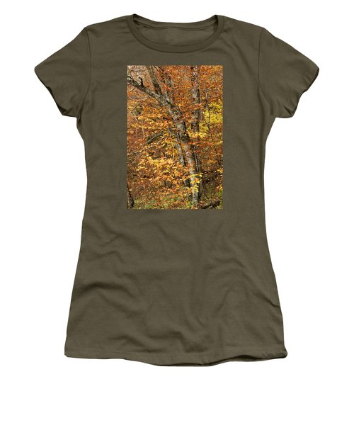 Autumn Colors Women's T-Shirt (Athletic Fit)