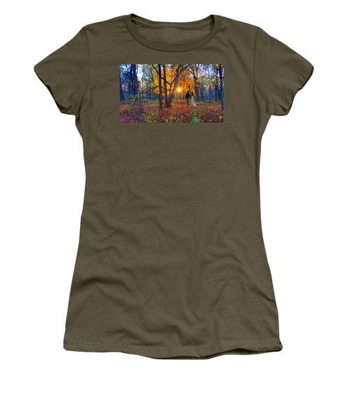Autumn In The Meadow Women's T-Shirt
