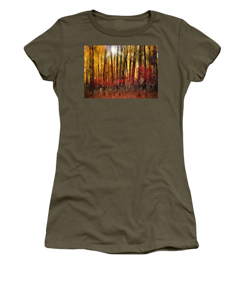 Autumn Light Women's T-Shirt (Athletic Fit)