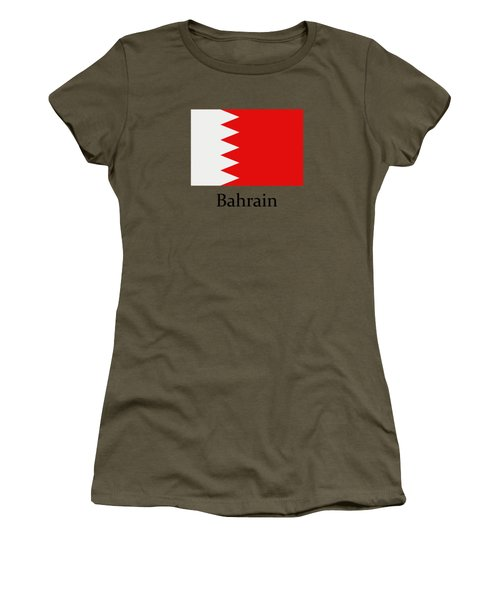 Bahrain Flag Women's T-Shirt