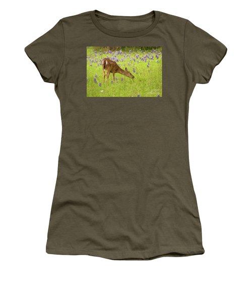 Bluebonnet Lunch Women's T-Shirt (Athletic Fit)
