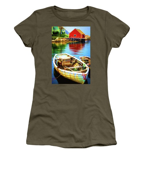 Boats Women's T-Shirt (Athletic Fit)
