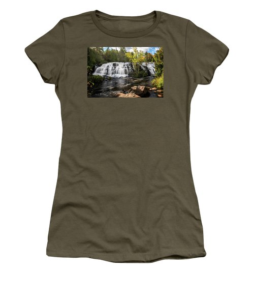 Bond Falls Women's T-Shirt (Athletic Fit)