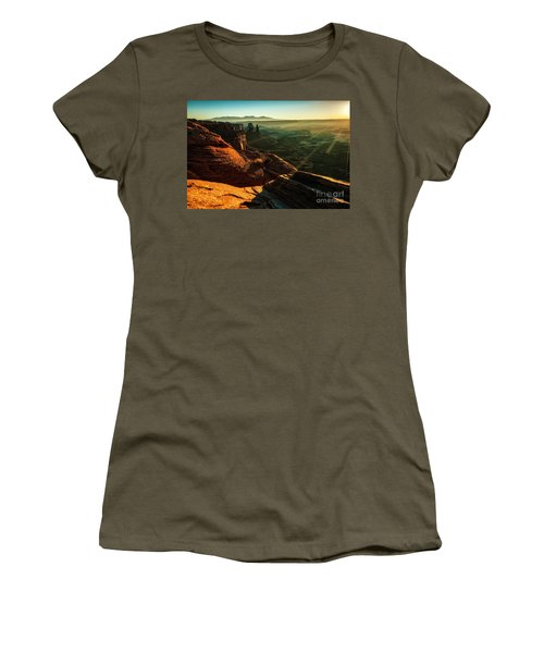 Canyon Sunbeams Women's T-Shirt (Athletic Fit)